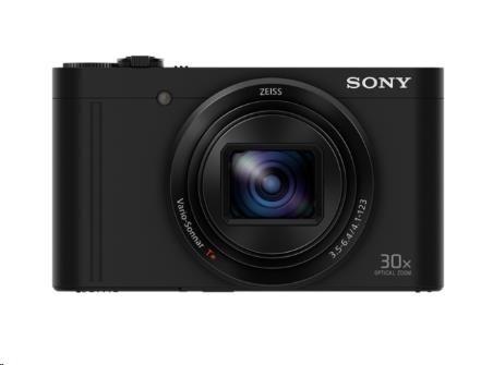 SONY DSC-WX500 Cyber-Shot 18,2 MPix, 30x zoom - černý