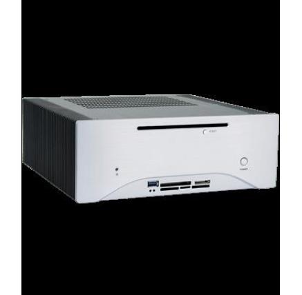 CHIEFTEC skříň Elox Series/mini ITX, HF-200SL-OP, Silver, Alu, bez zdroje, fanless, heat-pipe