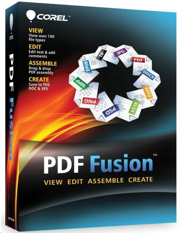 Corel PDF Fusion Maint (1 Yr) ML (501-1,000) ESD
