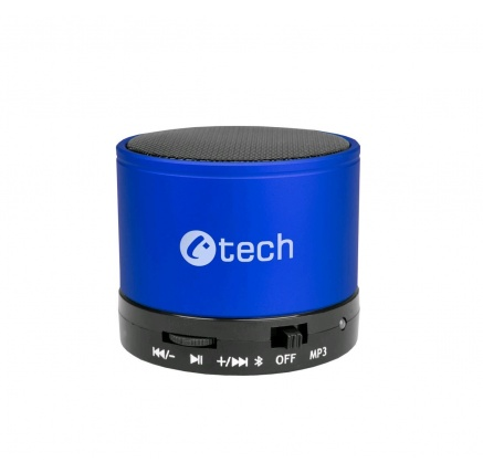 C-TECH repro SPK-04L, bluetooth, modré