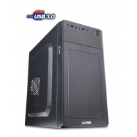 1stCOOL skříň STEP 3 ver.3 + čtečka karet, micro ATX, AU, USB 3.0, bez zdroje, Black