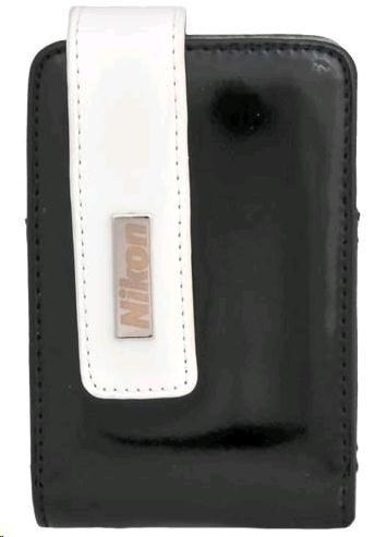 NIKON CS-S26 pouzdro (vertical) - černo-stříbrné