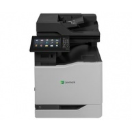LEXMARK tiskárna CX825de A4 COLOR LASER, 52ppm, 2048MB USB, LAN, duplex, dotykový LCD