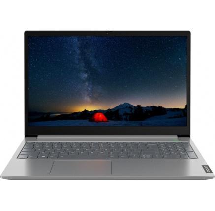 "LENOVO ThinkBook 15-IIL - i3-1005G1@1.2GHz,15.6"" FHD IPS mat,8GB,256SSD,noDVD,HDMI,USB-C,cam,backl,W10H,1r carryin"
