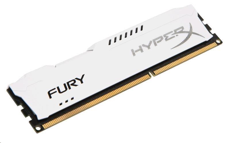 DIMM DDR3 8GB 1866MHz CL10 KINGSTON HyperX FURY White