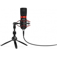 SPC Gear mikrofon SM950T Streaming microphone / USB / tripod / mute tlačítko / pop fitr