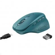 TRUST bezdrátová Myš Ozaa Rechargeable Wireless Mouse - blue