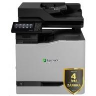 LEXMARK Multifunkční barevná tiskárna CX827de, A4, 50ppm, 2048MB, dotykov LCD, duplex, DADF, USB 2.0, LAN, 4letá záruka!