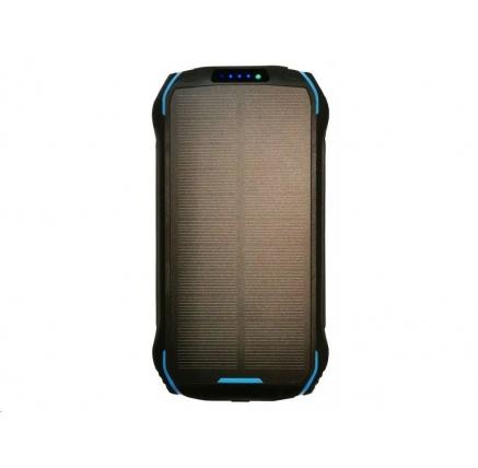 Viking solární outdoorová power banka S26W, 26800 mAh, bezdrátové nabíjení, černá