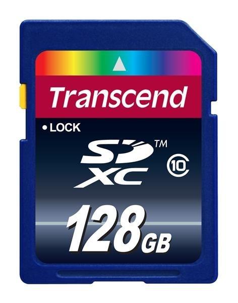 TRANSCEND SDXC Class 10, 128GB (Premium)