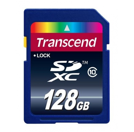 TRANSCEND SDXC karta 128GB Premium, Class 10
