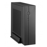 CHIEFTEC skříň Compact Series/mini ITX, IX-01B-OP, Black, bez zdroje