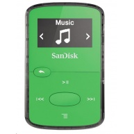 SanDisk Clip JAM, MP3 přehrávač Bright Green 8GB