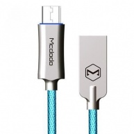 Mcdodo Knight Series Auto Disconnect Micro USB Data Cable with Quick Charge 1m Blue