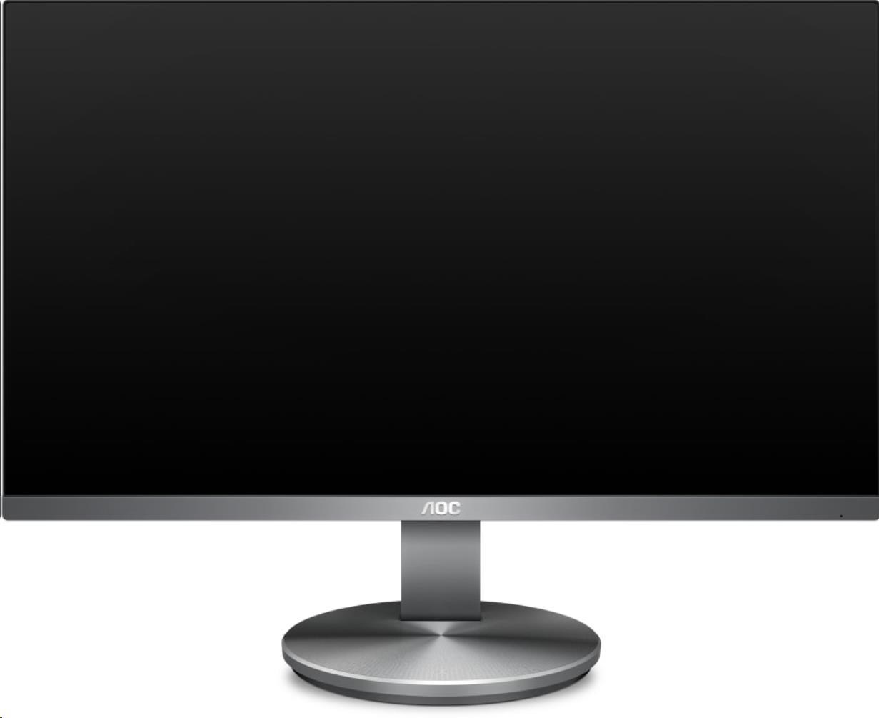 "AOC MT IPS LCD - WLED 23,8"" I2490VXQ/BT IPS panel , 1920x1080, D-Sub, HDMI, DP, repro"