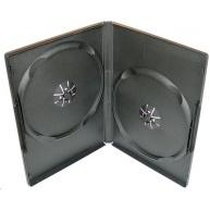 OEM Krabička na 2 DVD slim 9mm černá