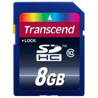 TRANSCEND SDHC karta 8GB Premium, Class 10