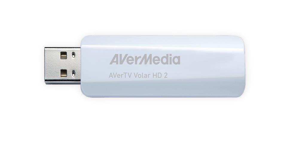 AVERMEDIA TV tuner AVerTV Volar HD2 TD110, USB (DVB-T, bílý)