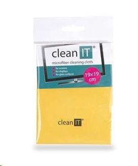 CLEAN IT CLEAN IT čisticí utěrka z mikrovlákna, malá žlutá