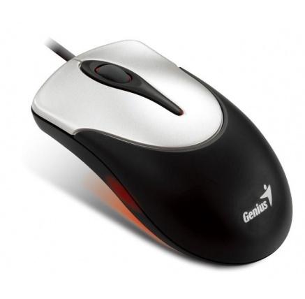 GENIUS myš NETSCROLL 100, Black/Silver, USB