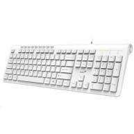 GENIUS Slimstar 230/ Drátová/ USB/ bílá/ CZ+SK layout