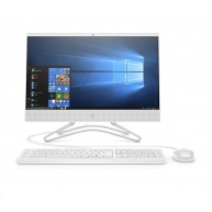 HP 200G3 AiO 21.5NT i3-8130U, 1x8 GB, SSD 256 GB M.2 NVMe TLC, DVDRW, usb kláv. a myš, Wifi ac, SD MCR, Win10Pro64