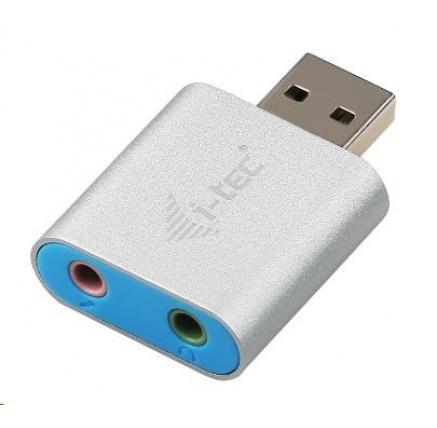 iTec USB 2.0 metal mini audio adapter