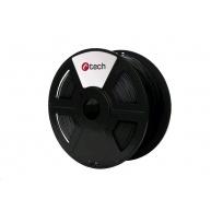 C-TECH Tisková struna (filament) PLA, 1,75mm, 1kg, černá