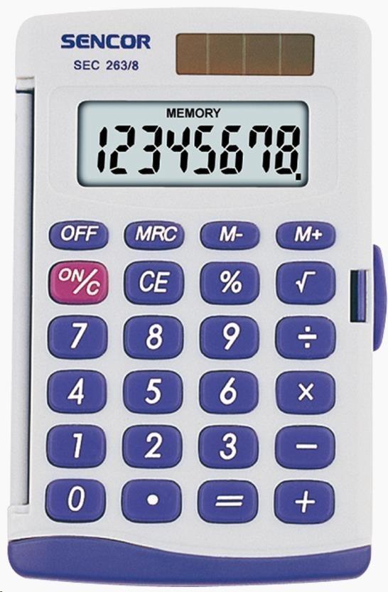 Sencor kalkulačka  SEC 263/8