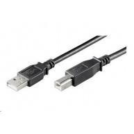 PREMIUMCORD Kabel USB 2.0 A-B propojovací 5m (M/M)