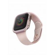 Uniq hliníkové pouzdro Valencia pro Apple Watch série 4/5 (40 mm), růžová