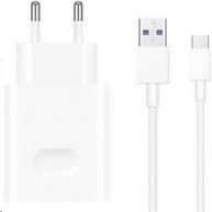 Huawei síťová nabíječka CP404, kabel USB-C, bílá