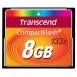 TRANSCEND Compact Flash 8GB (133x)