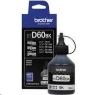 BROTHER INK BT-D60BK black pro T310, T510W, T710W, T910 cca 6000 stránek, bezpigmentový