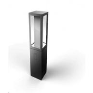 PHILIPS Impress Venkovní stojan, White and Color Ambience, 24V, 8W integr.LED, adaptér v bal., Antracit