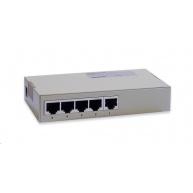 Repotec Switch 5x10/100, desktop, kov