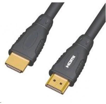 PREMIUMCORD Kabel HDMI - HDMI 10m (v1.3, zlacené kontakty, stíněný)