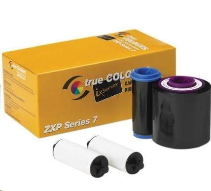 ZEBRA TTR páska ZXP7, pro potisk 2500 plastových karet, černá