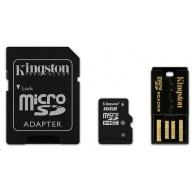Kingston 16GB Multi Kit / Mobility Kit - MicroSDHC 16GB (Class 10) + čtečka + adaptér