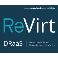 ReVirt DRaaS (100GB/1M/1VM)