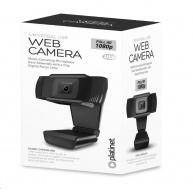 PLATINET web kamera 1080P, Full HD, digitální mikrofon, závit pro TRIPODO, USB