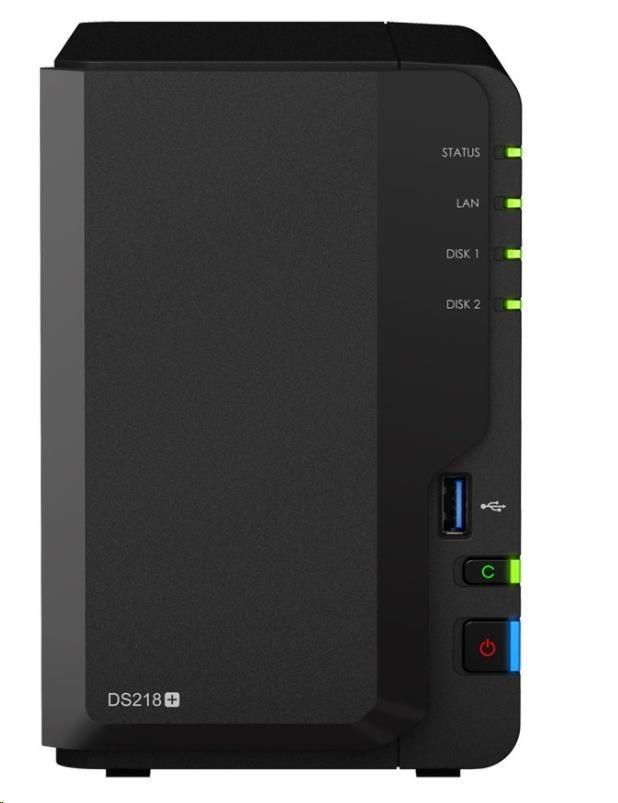 Synology DS218+ DiskStation (2GHz/2GBRAM/2xSATA/1xGbE)