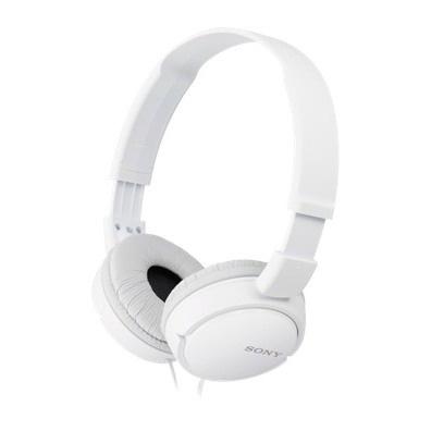 SONY stereo sluchátka MDR-ZX110, bílá