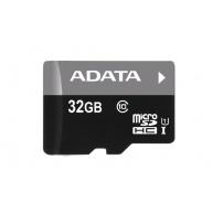 ADATA MicroSDHC karta 32GB UHS-I Class 10 + SD adaptér, Premier