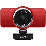 GENIUS webkamera ECam 8000/ červená/ Full HD 1080P/ USB2.0/ mikrofon