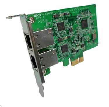 QNAP LAN-1G2T-I210 Síťová rozšiřující karta sítě 1 GbE se dvěma porty