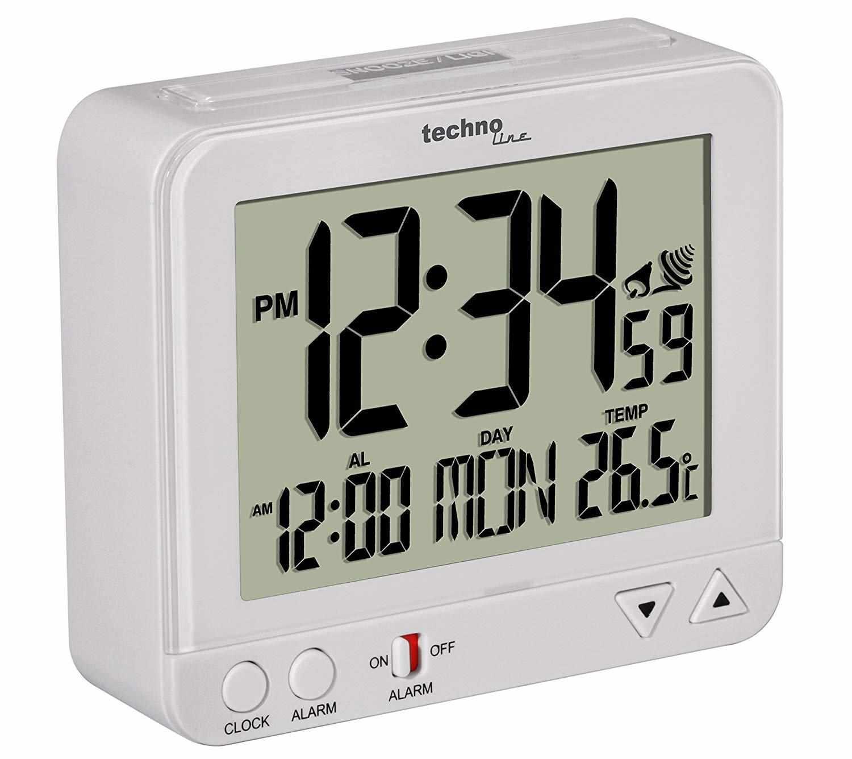 TechnoLine WT 195W - digitální budík s teploměrem