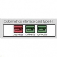 Colormetrics interface card, type-H