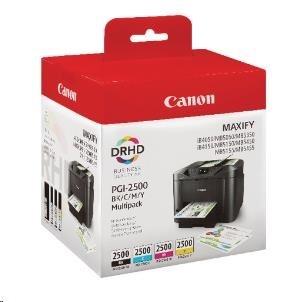 Canon BJ CARTRIDGE PGI-2500 BK/C/M/Y MULTI