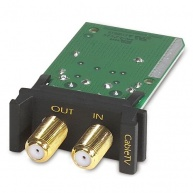 APC Surge Module for Coax Cable/CableTV, Replaceable, 1U, use with PRM4 or PRM24 Rackmount Chassis